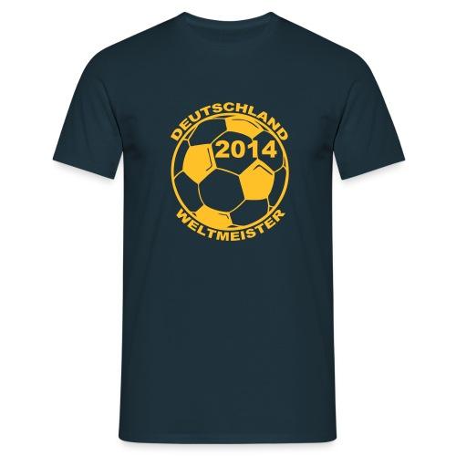 Deutschland Weltmeister 2014 Football t-shirt - Miesten t-paita