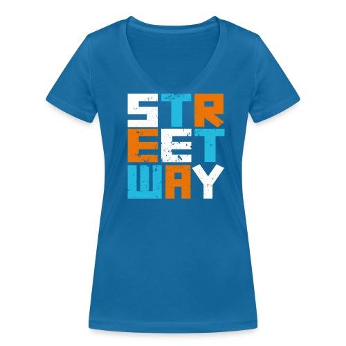 STREETWAY - T-shirt bio col V Stanley & Stella Femme