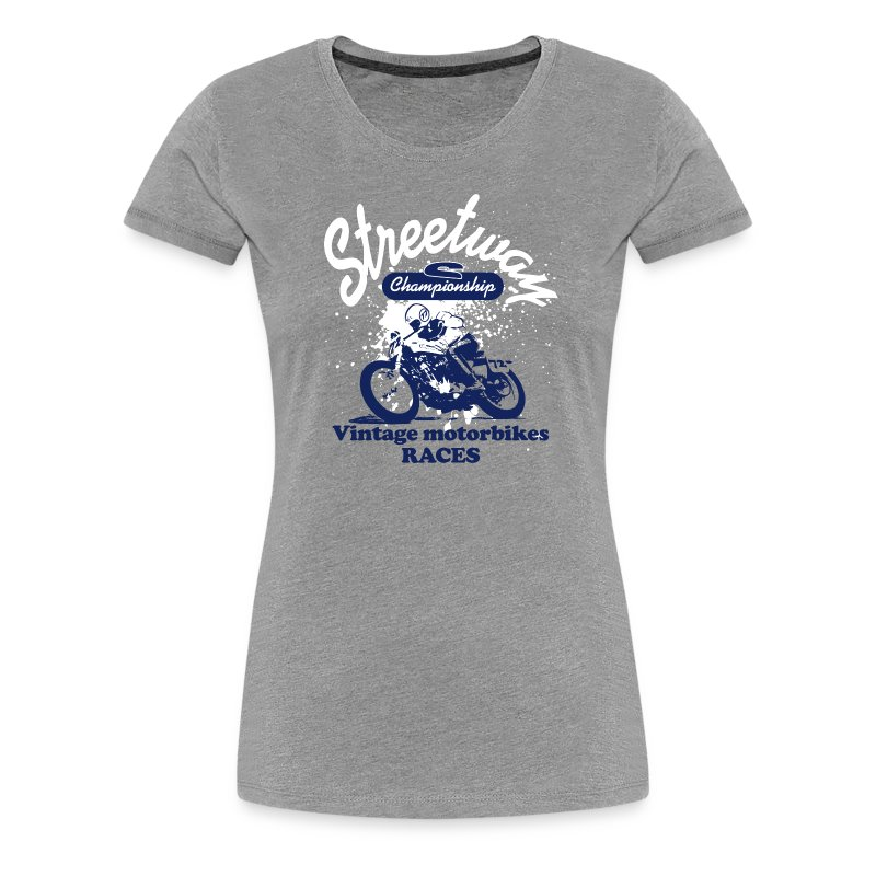 Vintage motorbikes - T-shirt Premium Femme