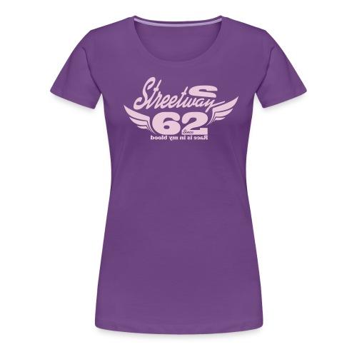 62'S - T-shirt Premium Femme