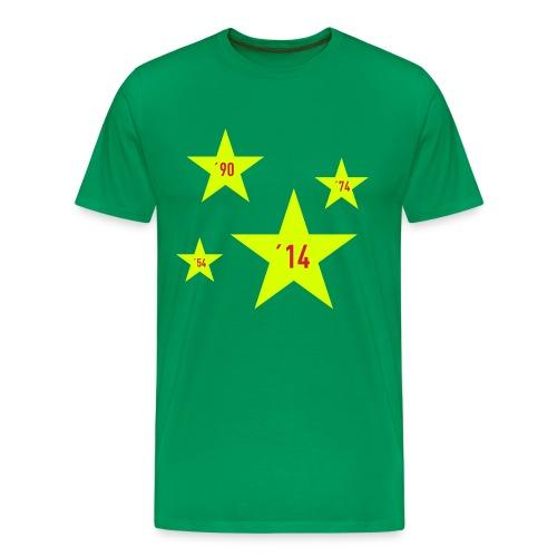 Weltmeister-Sterne - Männer Premium T-Shirt