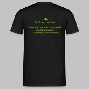 T-shirt homme (man) Life - Men's T-Shirt