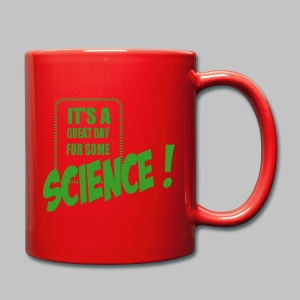 Mug Great day for science - Full Colour Mug