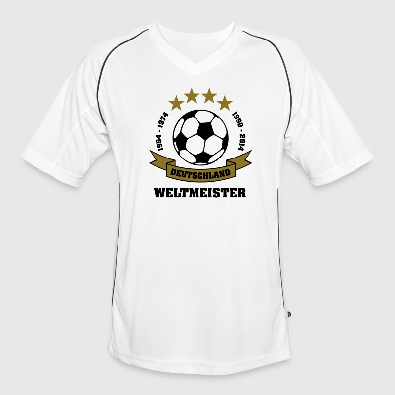 weltmeister 4 sterne t shirts fu ball deutschland fu ball trikot spreadshirt. Black Bedroom Furniture Sets. Home Design Ideas