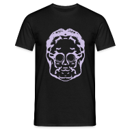 T-Shirts ~ Men's T-Shirt ~ Weldroid - Protozorq T-Shirt (Black/Lavender)