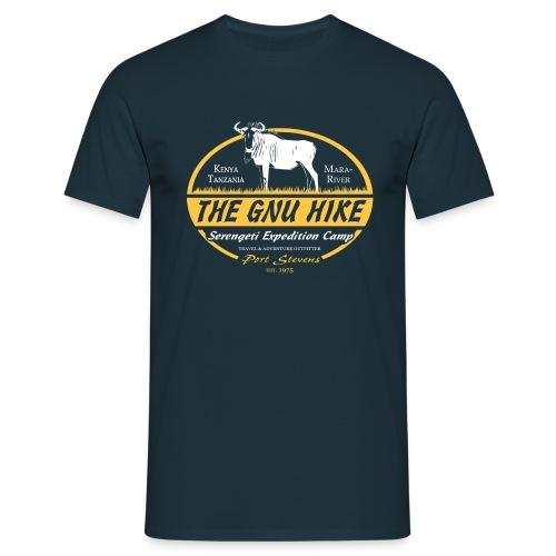 Gnu Hike - Männer T-Shirt