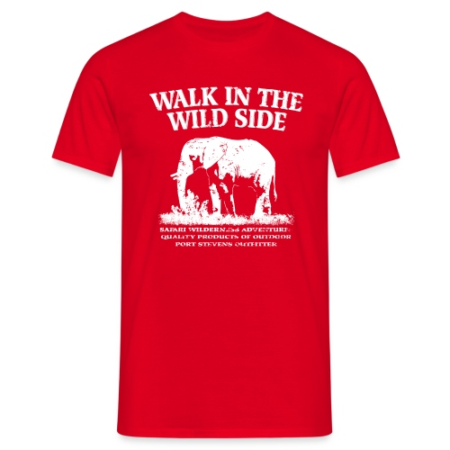 The Wild Side - Männer T-Shirt