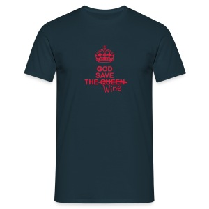 GOD save... the Wine ¨ - T-shirt Homme
