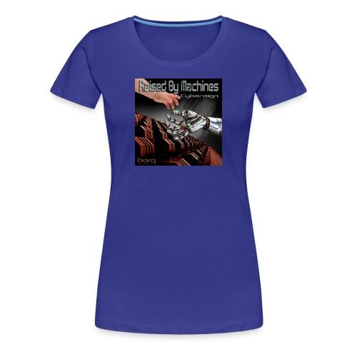 Ladies Cybereign T Shirt with Borg logo at back - Women's Premium T-Shirt