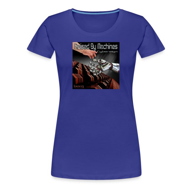 Ladies Cybereign T Shirt with Borg logo at back