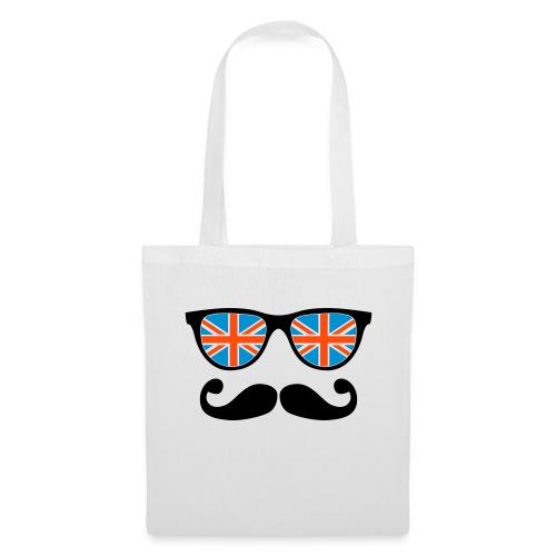 Sac en tissu Lunette à moustache - Tote Bag