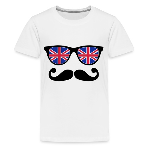 Tee shirt Lunette à moustache - T-shirt Premium Ado