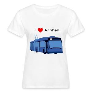 Trolleybus - vrouwen organic - Vrouwen Bio-T-shirt