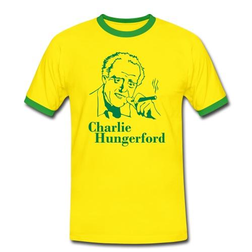 T-Shirt: Charlie Hungerford - BERGERAC - Männer Kontrast-T-Shirt