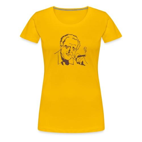 T-Shirt: Charlie Hungerford - BERGERAC - Frauen Premium T-Shirt