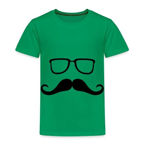 moustache and Glasses - Kids' Premium T-Shirt