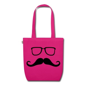 moustache and Glasses - EarthPositive Tote Bag