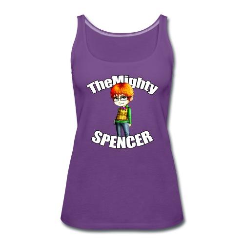 The Mighty Spencer - Women's Premium Tank Top