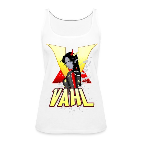Vahl V - Cel Shaded - Women's Premium Tank Top