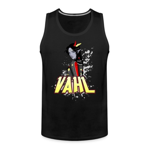 Vahl - Cel Shaded - Men's Premium Tank Top