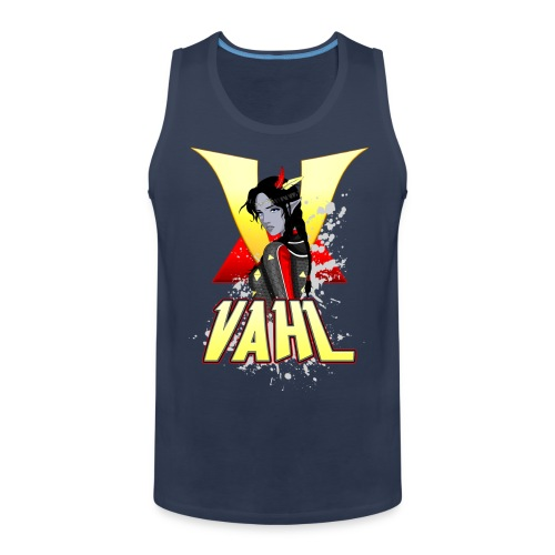 Vahl V - Cel Shaded - Men's Premium Tank Top