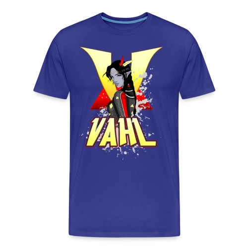 Vahl V - Cel Shaded - Men's Premium T-Shirt