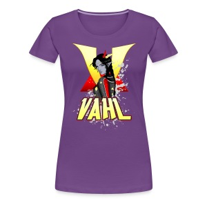 Vahl V - Cel Shaded - Women's Premium T-Shirt