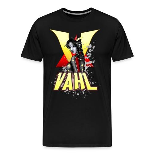 Vahl V - Soft Shaded - Men's Premium T-Shirt