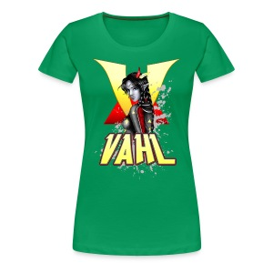 Vahl V - Soft Shaded - Women's Premium T-Shirt