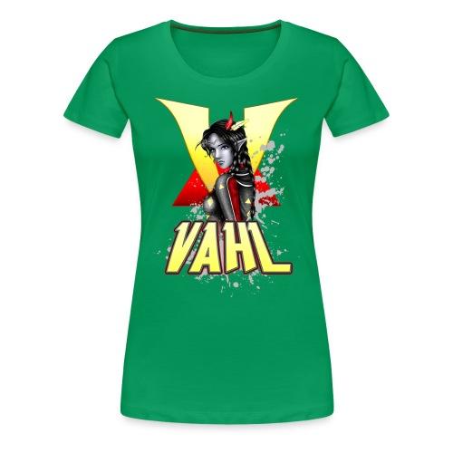 Vahl V - Soft Shaded - Women's Premium T-Shirt