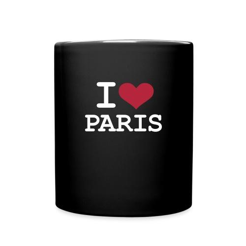 Mug Schwarz Paris - Tasse einfarbig