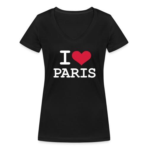 Top Triangle Frauen Paris - Frauen Bio-T-Shirt mit V-Ausschnitt von Stanley & Stella
