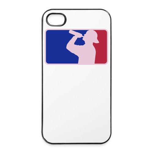 Cover Apple iPhone 4/4S 'Drinker World Champion' - Custodia rigida per iPhone 4/4s