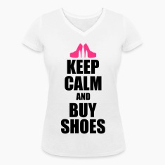 Keep calm and buy shoes T-Shirts