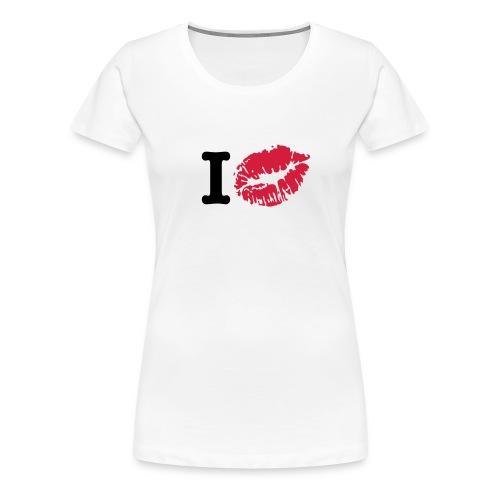 I KISS  - Maglietta Premium da donna