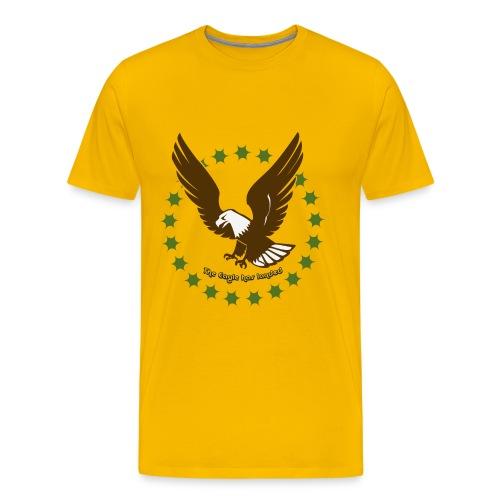 The eagle has landed - Herre premium T-shirt