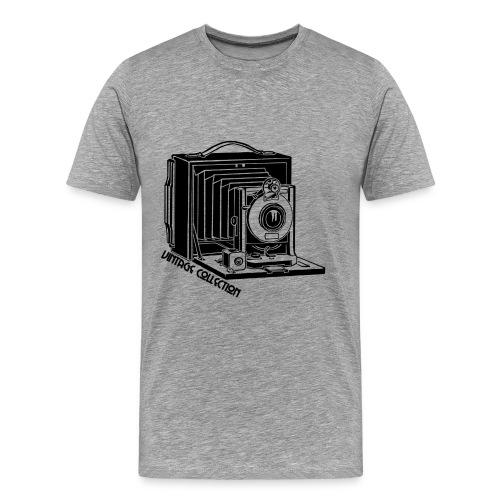 Old Camera - Herre premium T-shirt