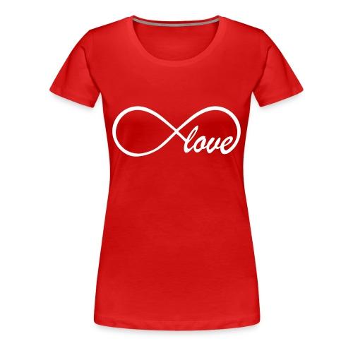 LOVE FOREVER - Maglietta Premium da donna