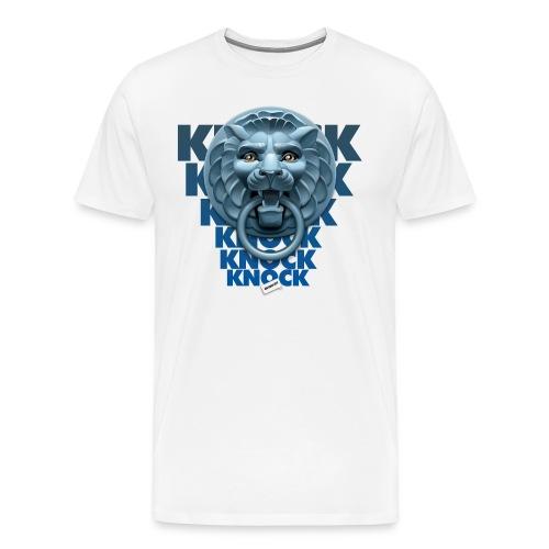 knock knock knock - Maglietta Premium da uomo
