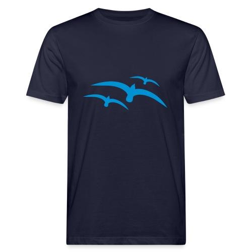 VogelShirt 1 - Mannen Bio-T-shirt