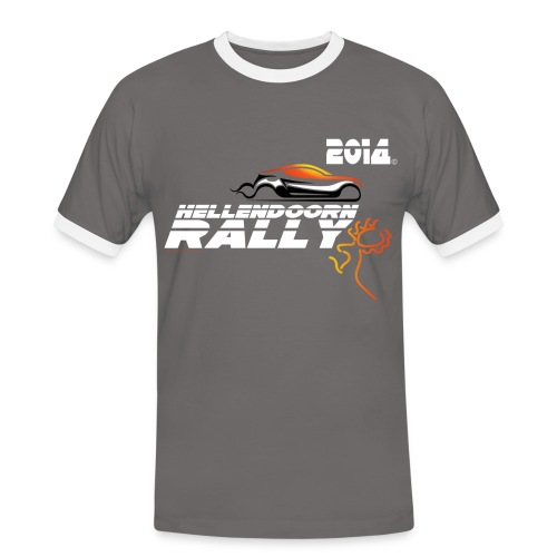 Hellendoorn Rally - Mannen contrastshirt