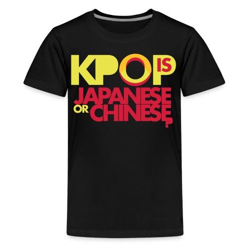 OCUBOX KPOP T-Shirt (Kids 10 - 13) - Teenage Premium T-Shirt