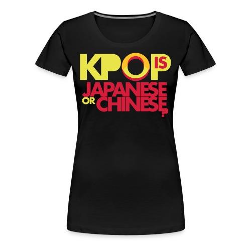 OCUBOX KPOP T-Shirt (Ladies) - Women's Premium T-Shirt