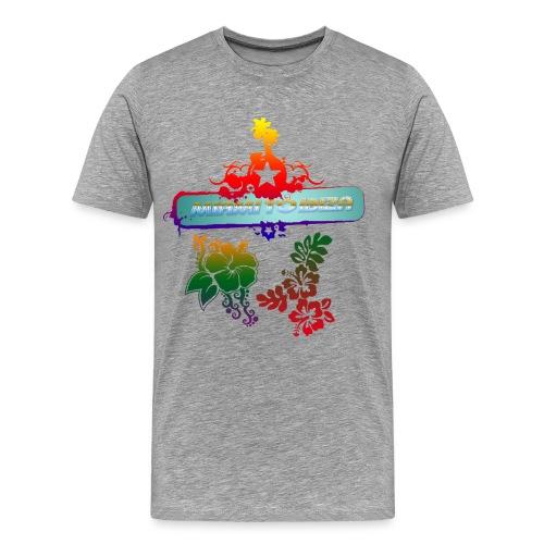 Miami to Ibiza - Herre premium T-shirt