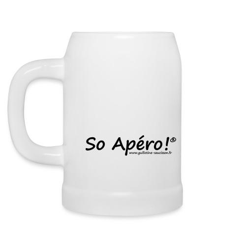 So Apéro ! la chope - Chope en céramique