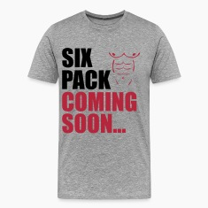 Six Pack Coming T-Shirts