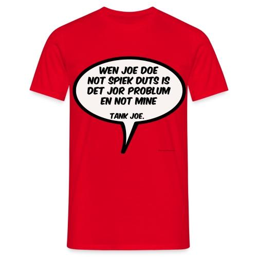 strand shirt - Mannen T-shirt