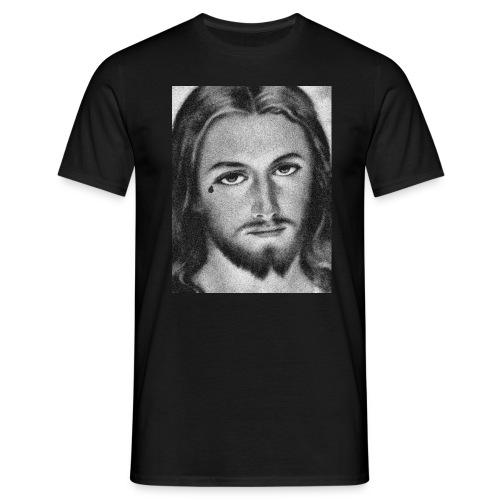 Jesus Teardrop - Mannen T-shirt