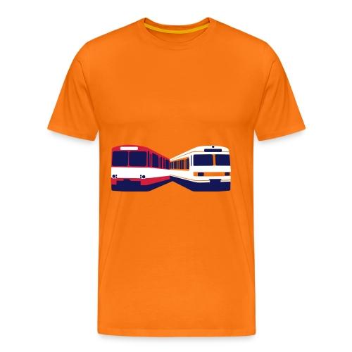 U-Bahn und S-Bahn Frankfurt am Main - Männer Premium T-Shirt