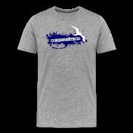 T-Shirts ~ Männer Premium T-Shirt ~ Möwe - Jungs - grau